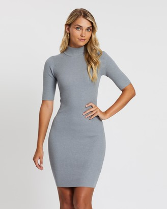 Atmos & Here Knit Skivvy Dress