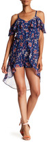 Amy Byer A. Byer Popover Romper Dress