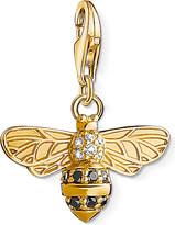 Thomas Sabo Charm Club 18ct gold-plated bee charm