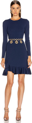 Altuzarra Mikey Knit Dress in Berry Blue | FWRD