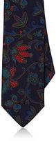 Drakes Drake's Men's Floral Silk Faille Necktie