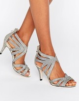 Oasis Cut Out Heeled Sandals