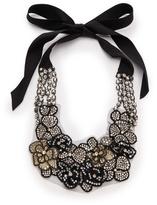 Vera Wang Collection Applique Tie Necklace