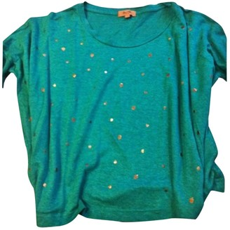 Bel Air Green Linen Top for Women