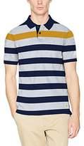 Fat Face Men's Highlight Block Stripe Polo Shirt