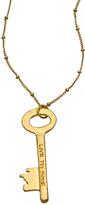 Blu Bijoux Live to Give Key Pendant Necklace