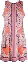 Hale Bob paisley sleeveless shift dress