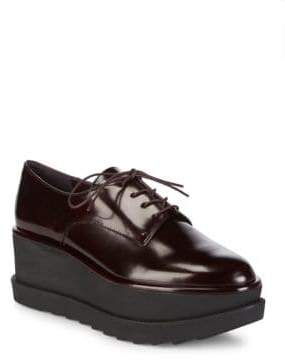 Stuart Weitzman Kent Jetmir Leather Derbys