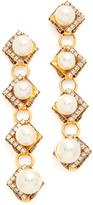 Erickson Beamon Bermuda Triangle Earrings