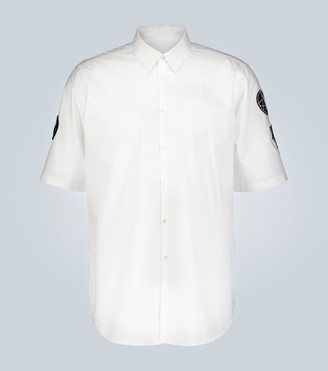 Raf Simons Short-sleeved slim-fit shirt