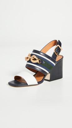 Tory Burch 75mm Jessa Block Heel Sandals