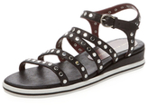 Marc by Marc Jacobs Gena Nailhead Leather Sandal