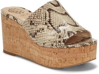 Vince Camuto Gadgen Wedge Slide Sandal
