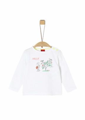 S'Oliver Junior Baby Girls' T-Shirt Langarm
