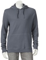 Croft & Barrow Men's Classic-Fit Solid Thermal Hooded Pullover - Men