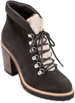 Dolce Vita Post Leather & Shearling Boot