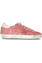 Golden Goose Deluxe Brand Sneakers Superstar Pink Glitter Jelly