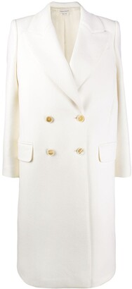 Alexander McQueen Double-Breasted Coat
