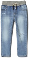 Gap Stretch rip & repair slim pull-on jean
