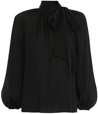 Zimmermann Silk Tie Blouse