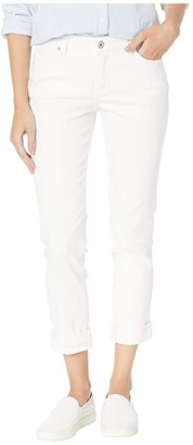 Jag Jeans Carter Girlfriend Jeans in Elite Colored Denim (White) Women's Jeans