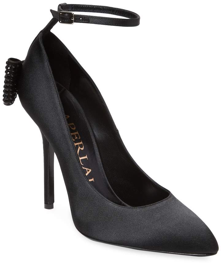 Aperlaï Women's Bow High Heel Pump