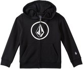Volcom Boys' Zip Up Logo Hoodie Sweater (4yrs7X) - 8132521