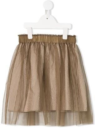 BRUNELLO CUCINELLI KIDS Layered Tulle Skirt