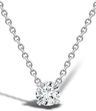 Pragnell 18kt white gold Windsor diamond pendant