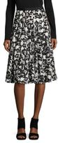 Karl Lagerfeld Paris Floral Printed Skirt