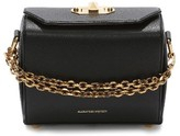 Alexander McQueen Medium Calfskin Leather Box Bag - Black