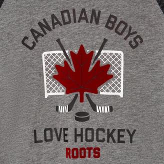 Roots Toddler Boys Love Hockey T-shirt
