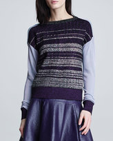 Nanette Lepore Night Sky Knit Sweater