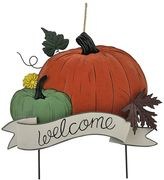 "Celebrate Fall Together ""Welcome"" Metal Garden Stake"