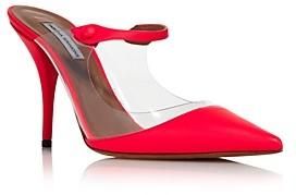 Tabitha Simmons Women's Allie Clear High-Heel Mules