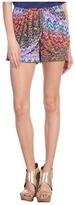 T-Bags Tbags Los Angeles - Drape Front Short (VA2 Print) - Apparel