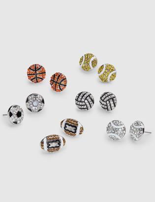 Lane Bryant Sparkling & Sporty Stud Earrings 6-Pack