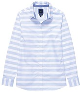 Crew Clothing Oxford Horizontal Stripe Shirt