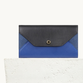 Maje Multicoloured leather clutch bag