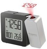 Oregon Scientific RM338PA Projection Atomic Clock Indoor Temperature, Grey