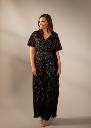 Phase Eight Hermosa Beaded Maxi Dress