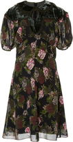 Anna Sui Watered Bouquets Dress