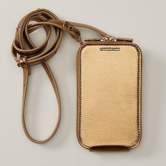 Love & Lore Love And Lore Crossbody Phone Bag Bronze Metallic