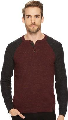 Lucky Brand Men's Color Block Henley Sweater