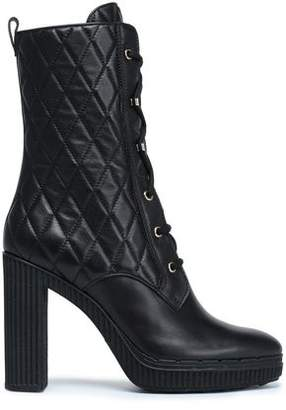 Tod's Quilted Leather Boots