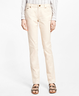 Brooks Brothers Natalie Fit Twill Cotton-Blend Pants