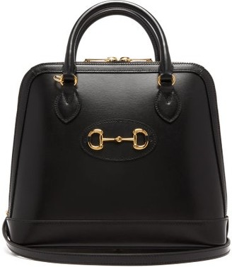 Gucci 1955 Horsebit Leather Cross-body Bag - Womens - Black