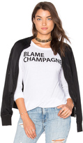 Chaser Blame Champagne Tee