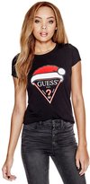 GUESS Santa Logo Tee