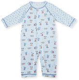 Kissy Kissy Sweater Weather Printed Coverall, Light Blue, Size 0-18 Months